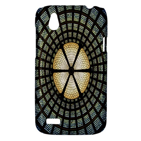 Stained Glass Colorful Glass HTC Desire V (T328W) Hardshell Case