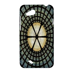 Stained Glass Colorful Glass HTC Desire VC (T328D) Hardshell Case
