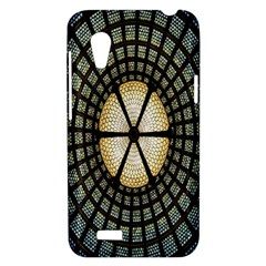 Stained Glass Colorful Glass HTC Desire VT (T328T) Hardshell Case