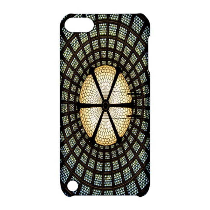 Stained Glass Colorful Glass Apple iPod Touch 5 Hardshell Case with Stand