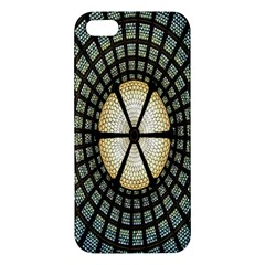 Stained Glass Colorful Glass Apple iPhone 5 Premium Hardshell Case