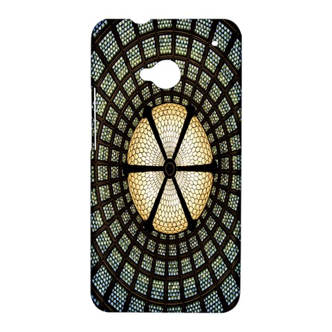 Stained Glass Colorful Glass HTC One M7 Hardshell Case