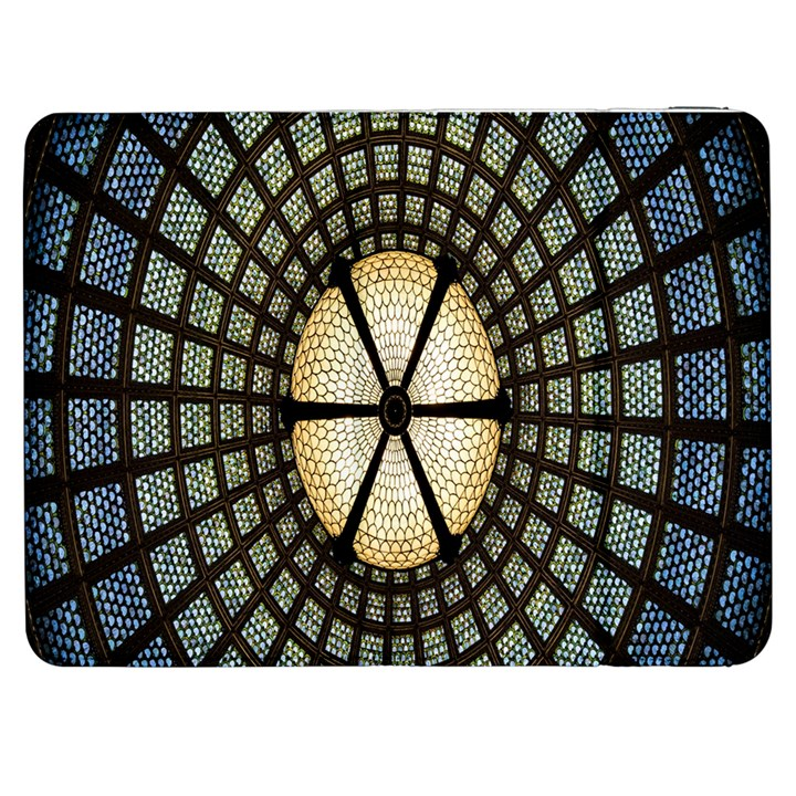 Stained Glass Colorful Glass Samsung Galaxy Tab 7  P1000 Flip Case