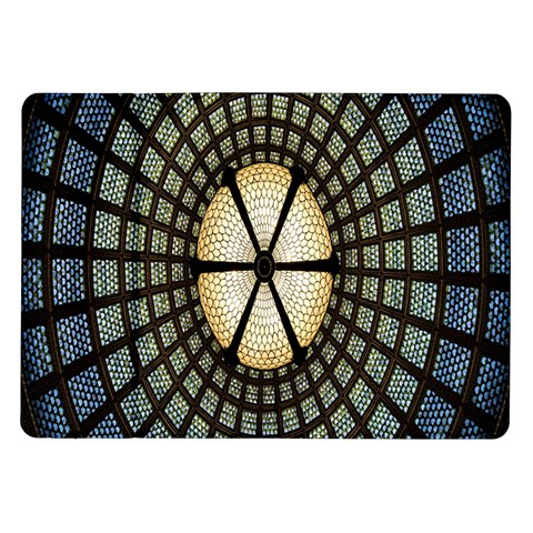 Stained Glass Colorful Glass Samsung Galaxy Tab 10.1  P7500 Flip Case