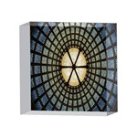 Stained Glass Colorful Glass 4 x 4  Acrylic Photo Blocks Front