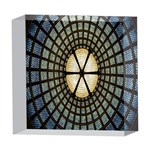 Stained Glass Colorful Glass 5  x 5  Acrylic Photo Blocks Front