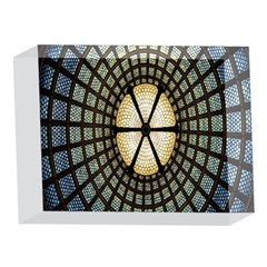 Stained Glass Colorful Glass 5 x 7  Acrylic Photo Blocks