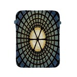 Stained Glass Colorful Glass Apple iPad 2/3/4 Protective Soft Cases Front