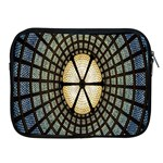 Stained Glass Colorful Glass Apple iPad 2/3/4 Zipper Cases Front