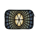 Stained Glass Colorful Glass Apple iPad Mini Zipper Cases Front