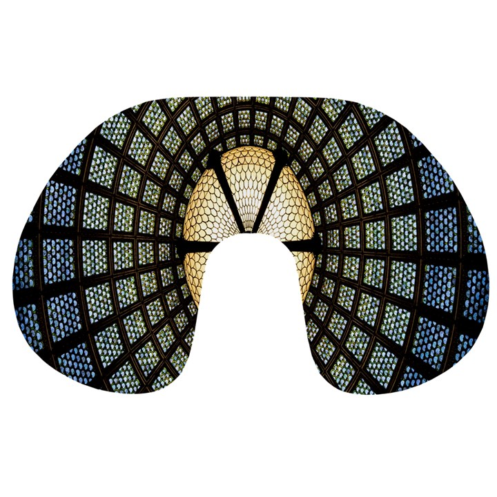 Stained Glass Colorful Glass Travel Neck Pillows