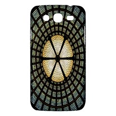 Stained Glass Colorful Glass Samsung Galaxy Mega 5.8 I9152 Hardshell Case