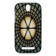 Stained Glass Colorful Glass HTC One SV Hardshell Case