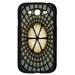 Stained Glass Colorful Glass Samsung Galaxy Grand DUOS I9082 Case (Black) Front