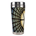 Stained Glass Colorful Glass Stainless Steel Travel Tumblers Left