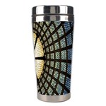 Stained Glass Colorful Glass Stainless Steel Travel Tumblers Right