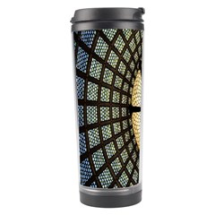 Stained Glass Colorful Glass Travel Tumbler