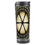 Stained Glass Colorful Glass Travel Tumbler Center