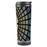 Stained Glass Colorful Glass Travel Tumbler Right