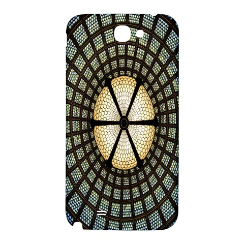 Stained Glass Colorful Glass Samsung Note 2 N7100 Hardshell Back Case