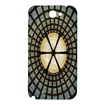 Stained Glass Colorful Glass Samsung Note 2 N7100 Hardshell Back Case Front