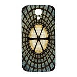 Stained Glass Colorful Glass Samsung Galaxy S4 I9500/I9505  Hardshell Back Case Front