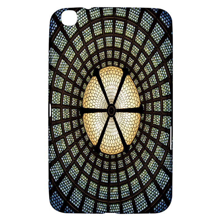 Stained Glass Colorful Glass Samsung Galaxy Tab 3 (8 ) T3100 Hardshell Case