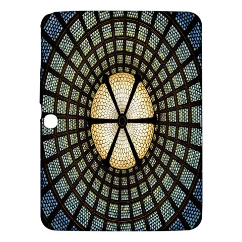 Stained Glass Colorful Glass Samsung Galaxy Tab 3 (10.1 ) P5200 Hardshell Case