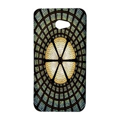 Stained Glass Colorful Glass HTC Butterfly S/HTC 9060 Hardshell Case