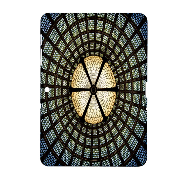 Stained Glass Colorful Glass Samsung Galaxy Tab 2 (10.1 ) P5100 Hardshell Case