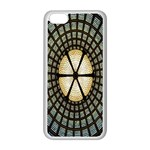 Stained Glass Colorful Glass Apple iPhone 5C Seamless Case (White) Front