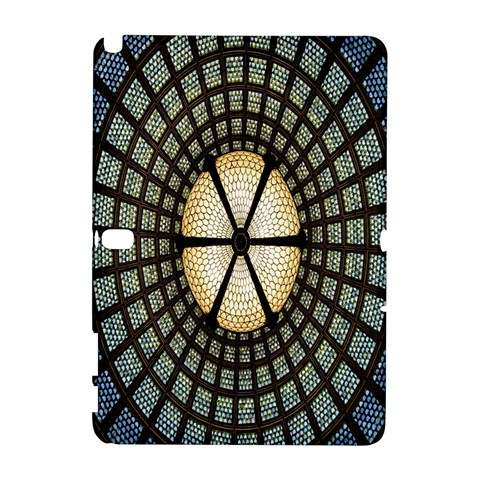 Stained Glass Colorful Glass Samsung Galaxy Note 10.1 (P600) Hardshell Case