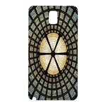 Stained Glass Colorful Glass Samsung Galaxy Note 3 N9005 Hardshell Back Case Front