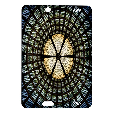 Stained Glass Colorful Glass Amazon Kindle Fire HD (2013) Hardshell Case
