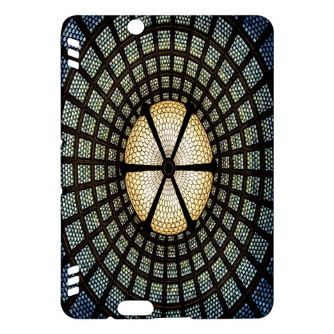 Stained Glass Colorful Glass Kindle Fire HDX Hardshell Case