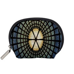 Stained Glass Colorful Glass Accessory Pouches (Small)