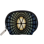 Stained Glass Colorful Glass Accessory Pouches (Small)  Front