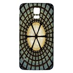 Stained Glass Colorful Glass Samsung Galaxy S5 Back Case (White) Front