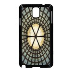 Stained Glass Colorful Glass Samsung Galaxy Note 3 Neo Hardshell Case (Black) Front