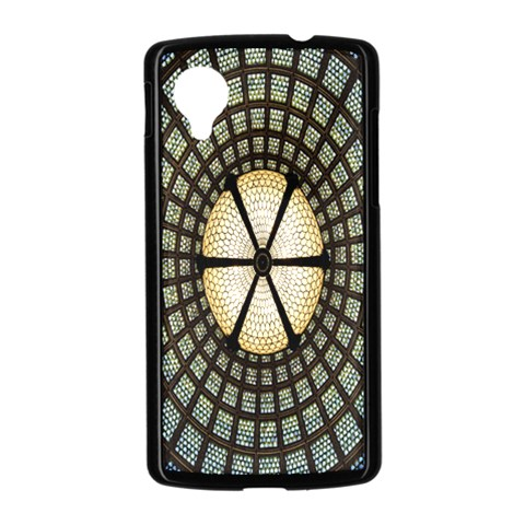 Stained Glass Colorful Glass Nexus 5 Case (Black)