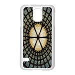 Stained Glass Colorful Glass Samsung Galaxy S5 Case (White) Front