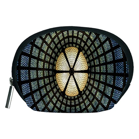 Stained Glass Colorful Glass Accessory Pouches (Medium)