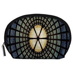 Stained Glass Colorful Glass Accessory Pouches (Large)