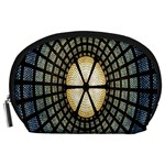 Stained Glass Colorful Glass Accessory Pouches (Large)  Front