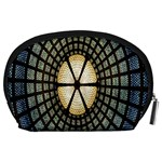 Stained Glass Colorful Glass Accessory Pouches (Large)  Back