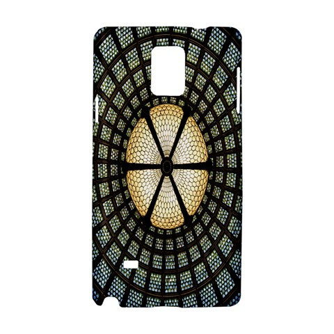 Stained Glass Colorful Glass Samsung Galaxy Note 4 Hardshell Case