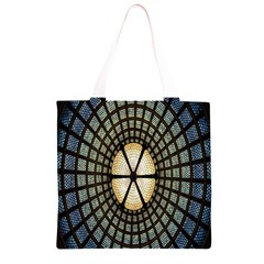 Stained Glass Colorful Glass Grocery Light Tote Bag