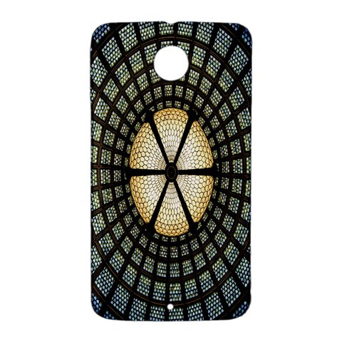 Stained Glass Colorful Glass Nexus 6 Case (White)