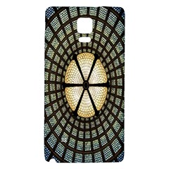 Stained Glass Colorful Glass Galaxy Note 4 Back Case