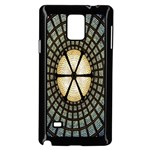 Stained Glass Colorful Glass Samsung Galaxy Note 4 Case (Black) Front